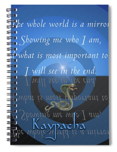 Kaypacha - September 17, 2018 Spiral Notebook