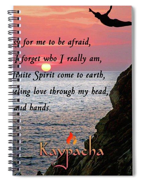 Kaypacha- September 5, 2018 Spiral Notebook