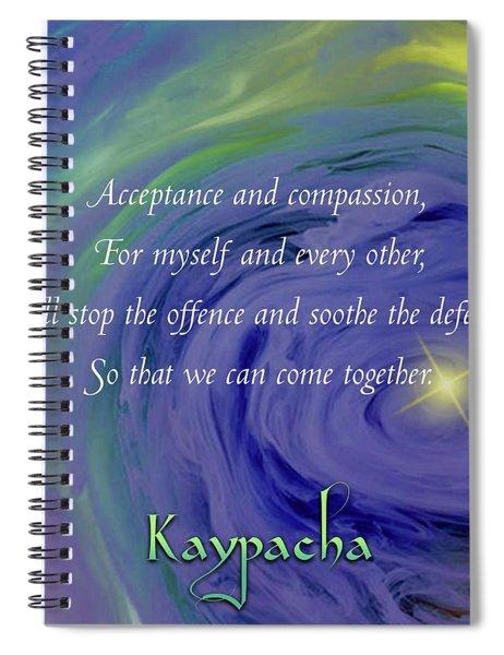 Kaypacka - February 27, 2019 Spiral Notebook
