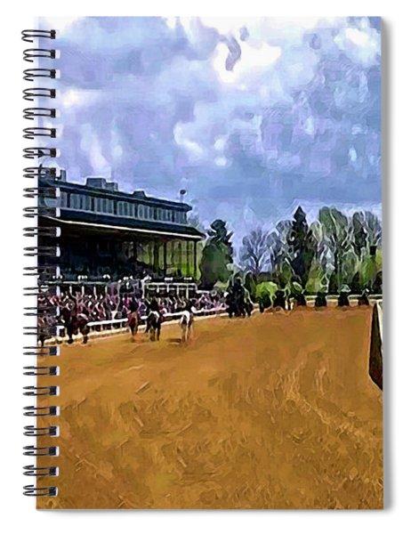 Keeneland The Stretch Spiral Notebook