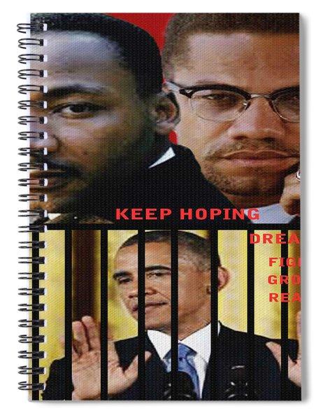 Keep Hoping Spiral Notebook