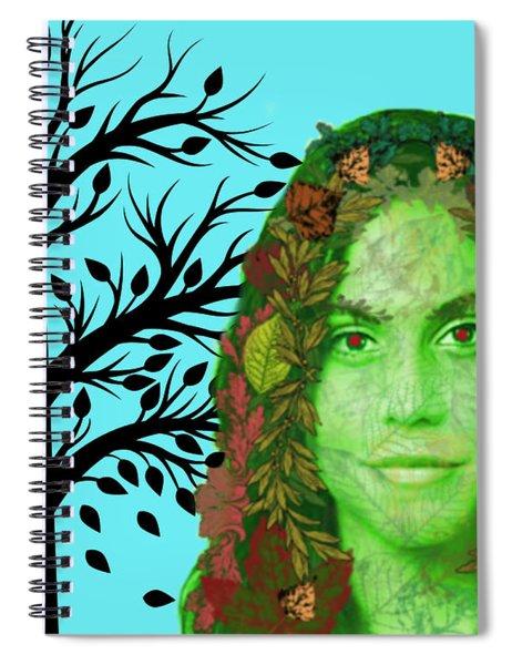 Keeper Of Autumn Spiral Notebook