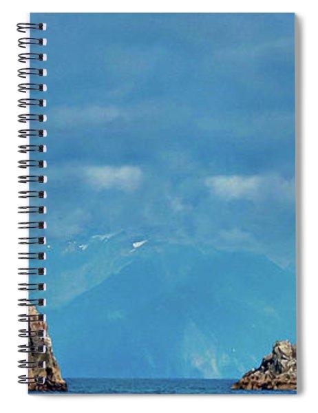 Kenai Fjords Alaska Spiral Notebook