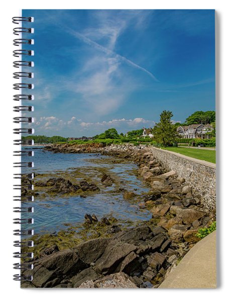 Kennebunkport The Green Lively Life Spiral Notebook