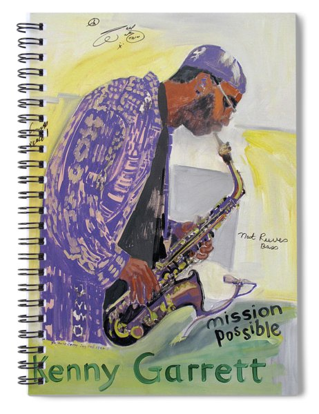 Kenny Garrett Spiral Notebook