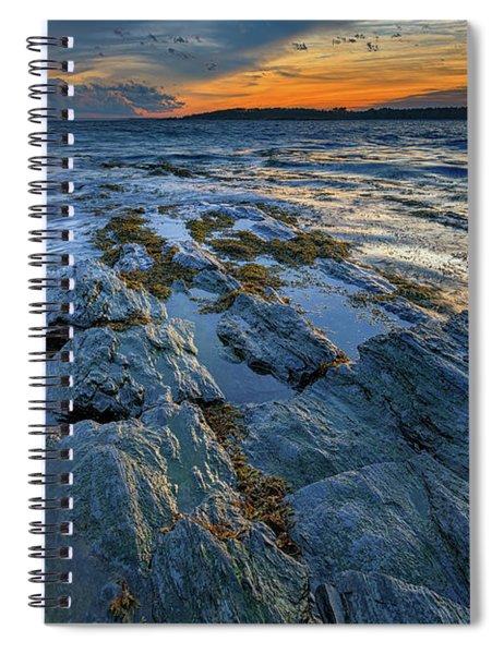Kettle Cove Evening Spiral Notebook