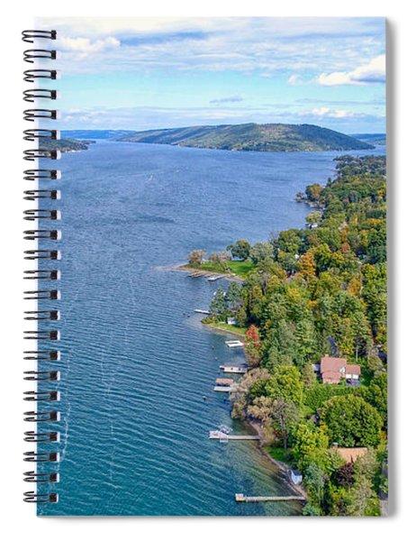 Keuka Center Point Spiral Notebook