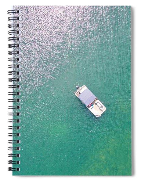 Keuka Lake Boating Spiral Notebook
