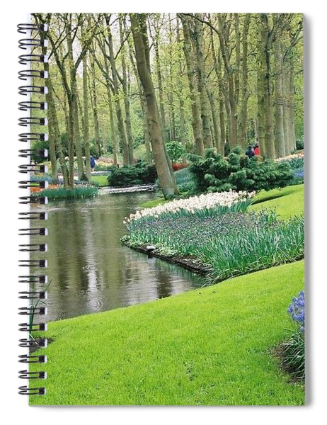 Keukenhof Gardens Spiral Notebook