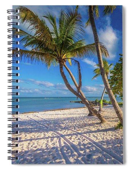 Spiral Notebook featuring the photograph Key West Florida by Robert Bellomy