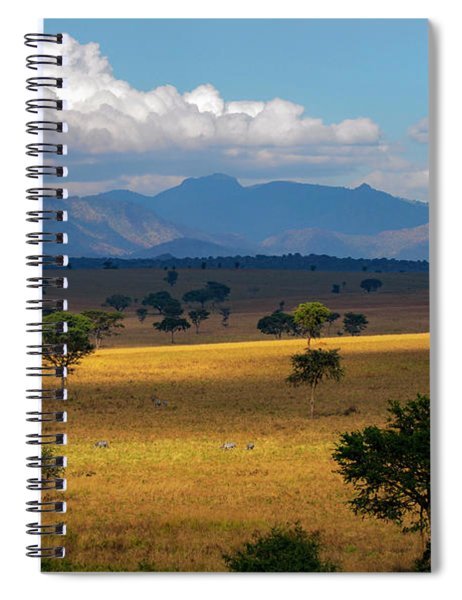 Kidepo Gold Spiral Notebook