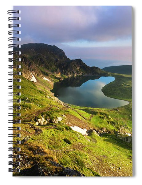 Kidney Lake Spiral Notebook