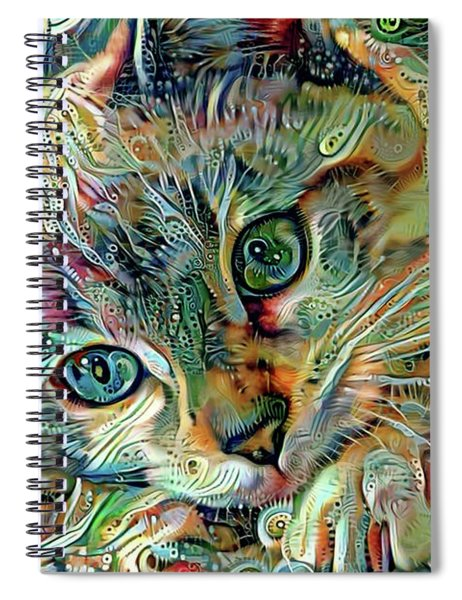 Kiki The Siamese Kitten Spiral Notebook