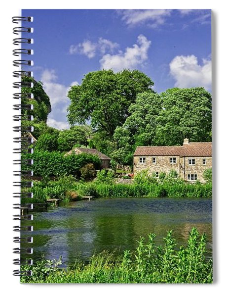 Kilnsey Village, Yorkshire Dales Spiral Notebook