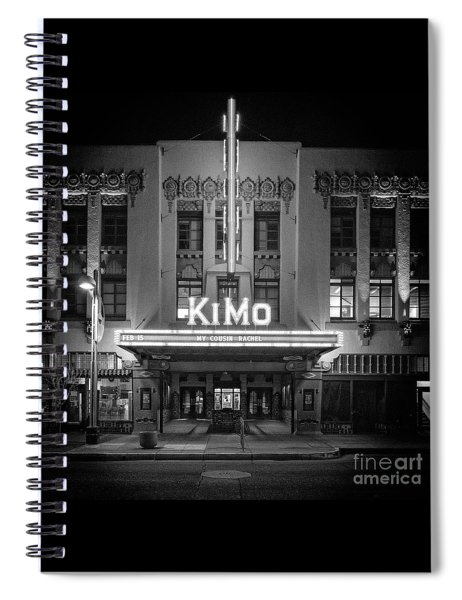Kimo Theater Spiral Notebook