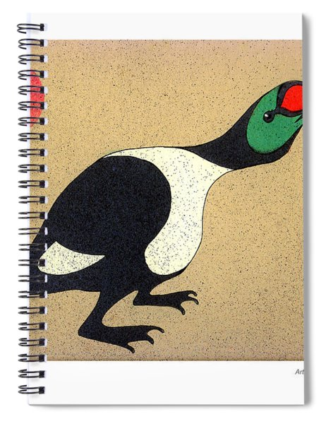 King Eider Spiral Notebook