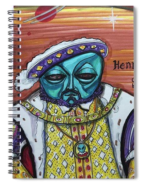 King Henralien Viii Spiral Notebook
