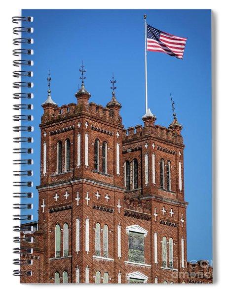 King Mill - Augusta Ga 3 Spiral Notebook