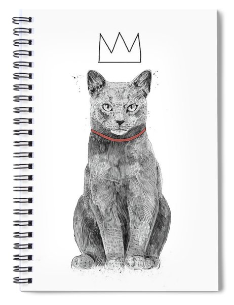 King Of Everything Spiral Notebook