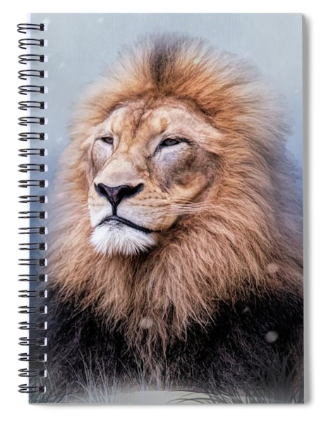 King Winter Spiral Notebook