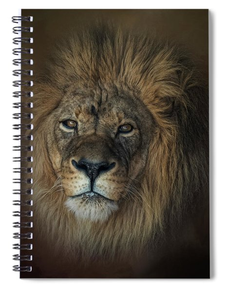 King's Gaze Spiral Notebook