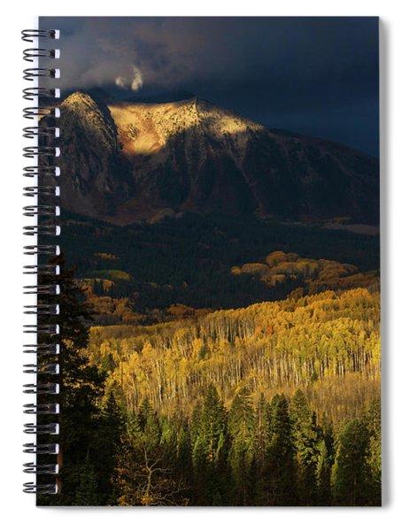 Kiss Of Sunlight Spiral Notebook