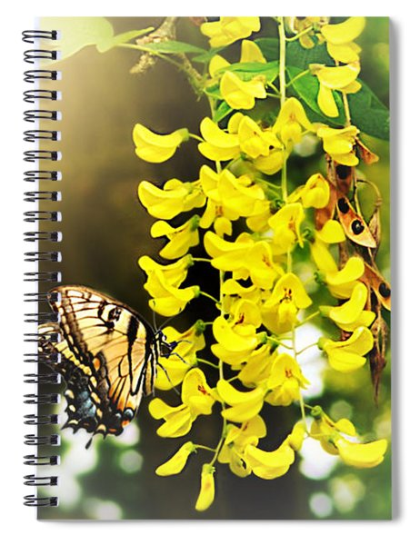 Kissed By The Sun Spiral Notebook