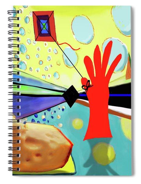 Kite Spiral Notebook