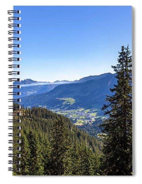 Kleinwalsertal, Austria Spiral Notebook