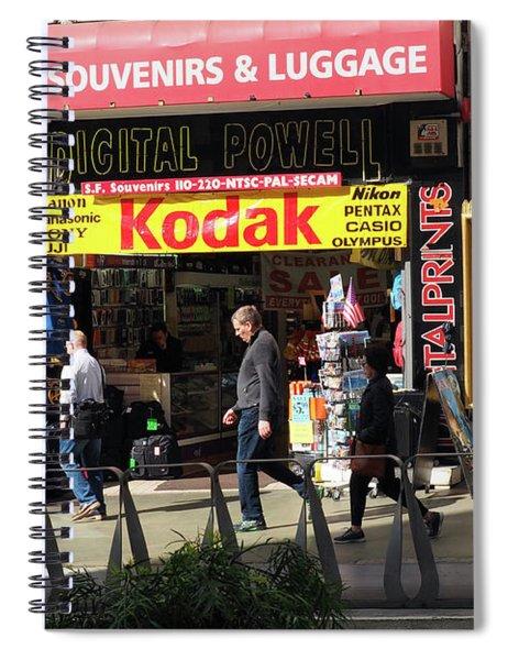 Kodak Store Spiral Notebook