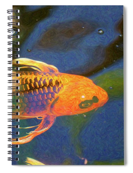 Koi Pond Fish - Picasso's Pets - By Omaste Witkowski Spiral Notebook