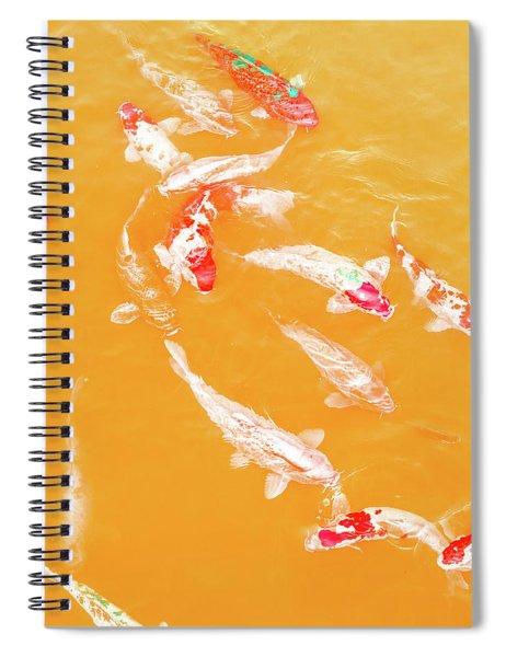 Koicarpscape 5 Spiral Notebook