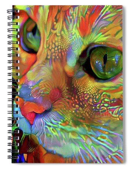 Koko The Orange Cat Spiral Notebook