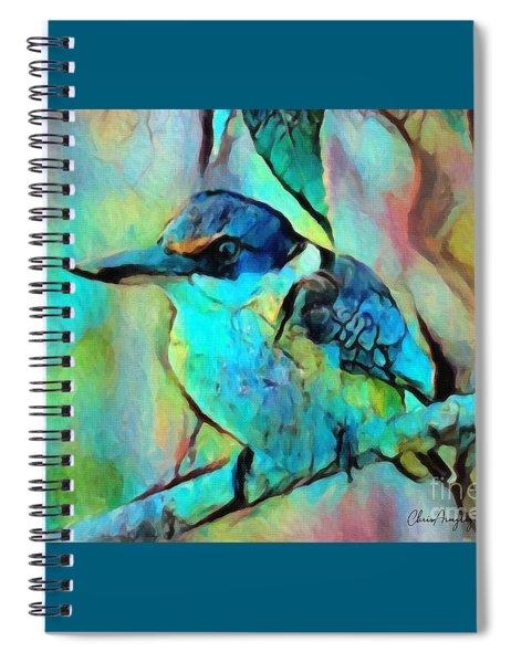 Kookaburra Blues Spiral Notebook