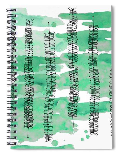 Kowhai Watercolour 2 Spiral Notebook