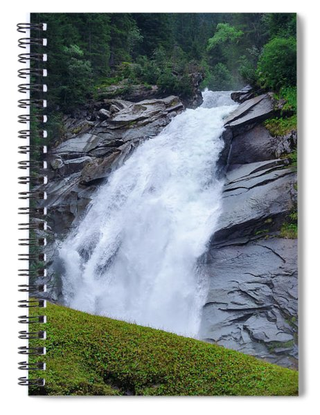 Krimml Waterfalls IIi Spiral Notebook
