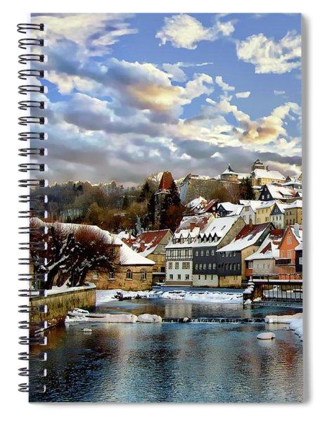 Kronach Winter Scene Spiral Notebook