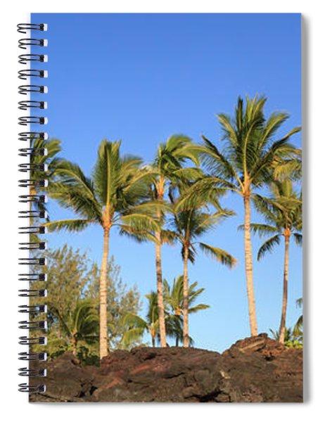 Golden Palms Spiral Notebook