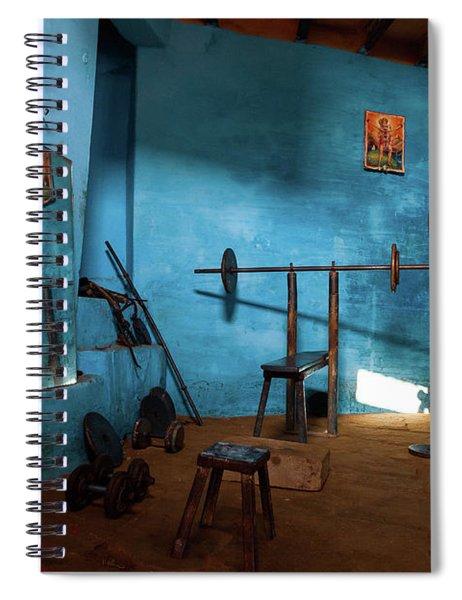 Kusti Akhara Spiral Notebook
