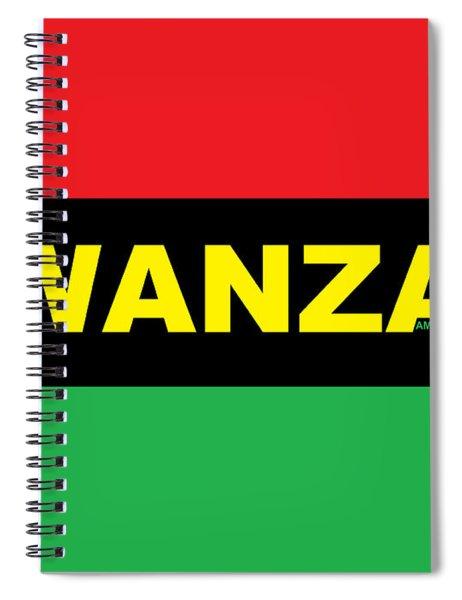 Kwanzaa Spiral Notebook