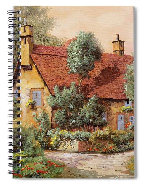 La Casa Inglese Spiral Notebook