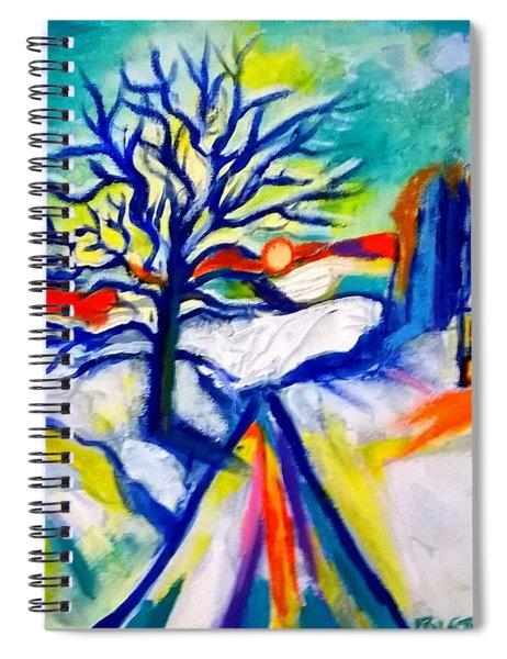 La Neige Spiral Notebook