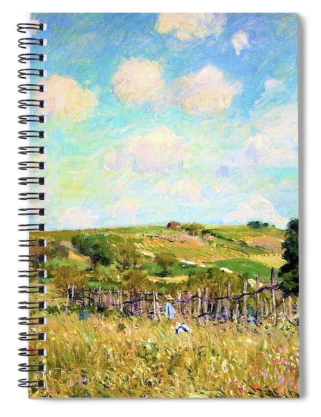 La Prairie - Digital Remastered Edition Spiral Notebook