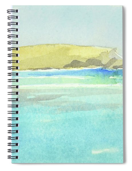 La Tortue, St Barthelemy, 1996_4179 Clean Cropped, 102x58 Cm, 6,86 Mb Spiral Notebook