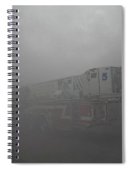 Ladder 5 At A Worker Spiral Notebook