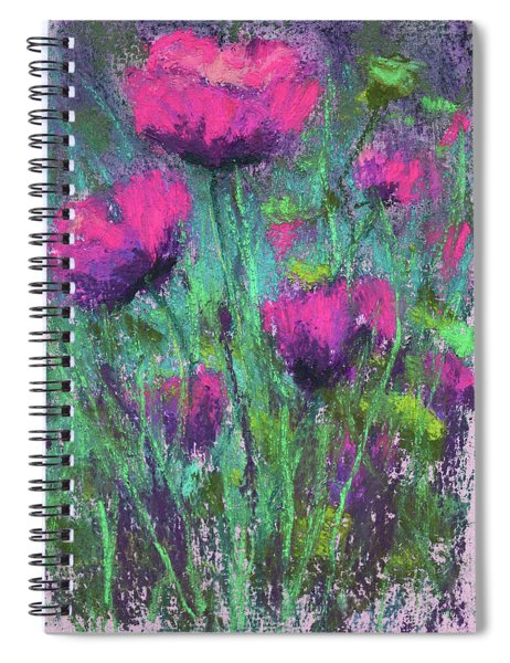 Ladies In Pink Spiral Notebook