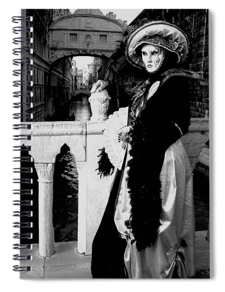 Lady And The Sigh Spiral Notebook