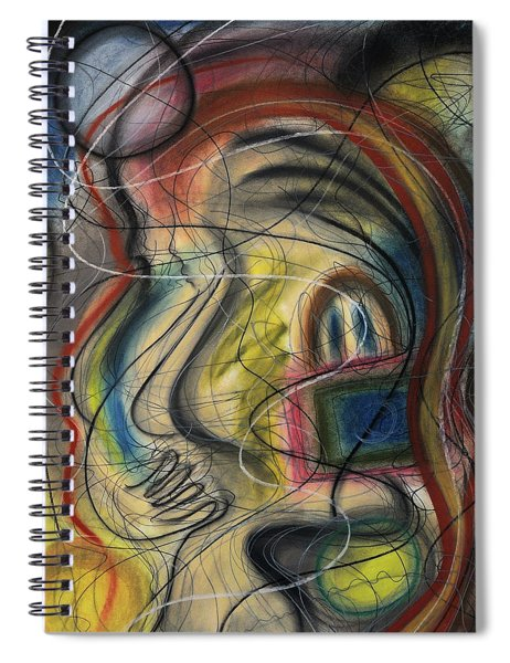 Lady With Purse Spiral Notebook