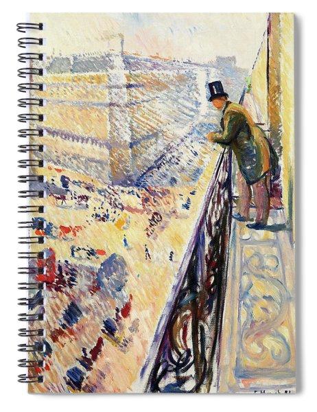 Lafayette Street - Digital Remastered Edition Spiral Notebook