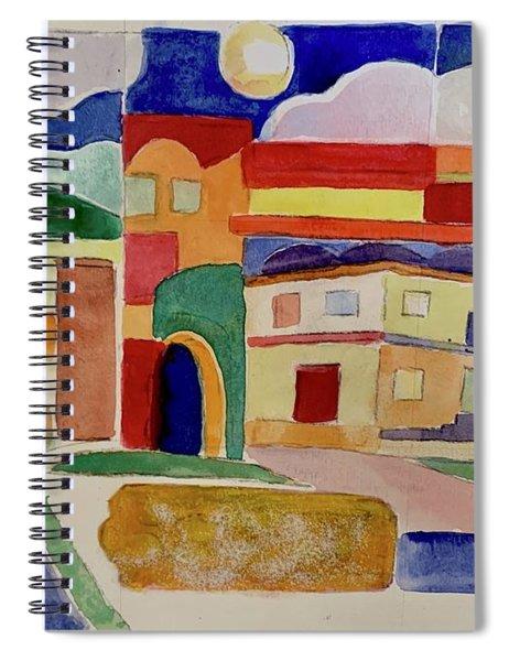 Laguna De Sol Arch Spiral Notebook